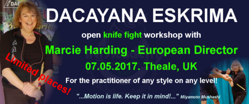 Dacayana knife Workshop