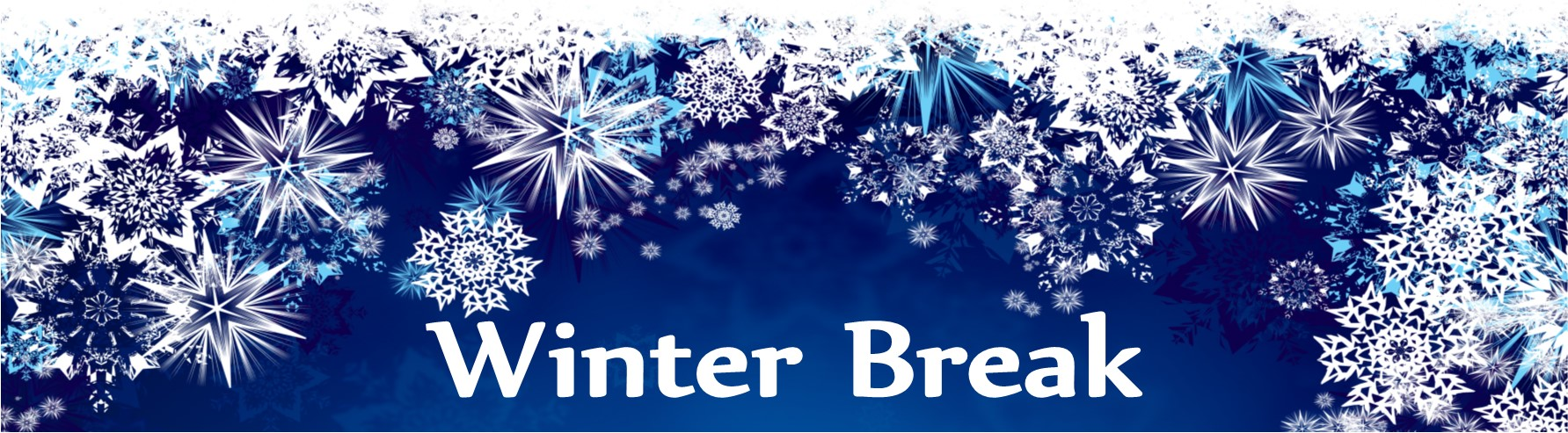 winter break banner - Christmas Break Dates